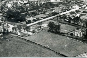 view of old and new school about 1955259